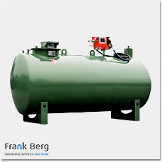 Double walled horizontal Cylindrical diesel storage tanks
