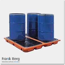 drum bunds, ibc bunds, spill trays, spill containment, drum trays